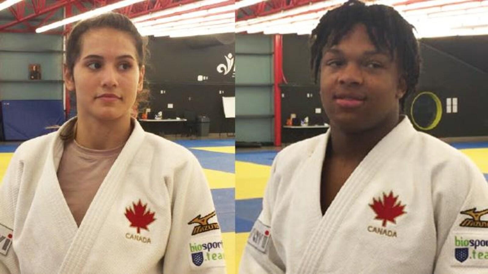 Rachel Krapman et Keagan Young.