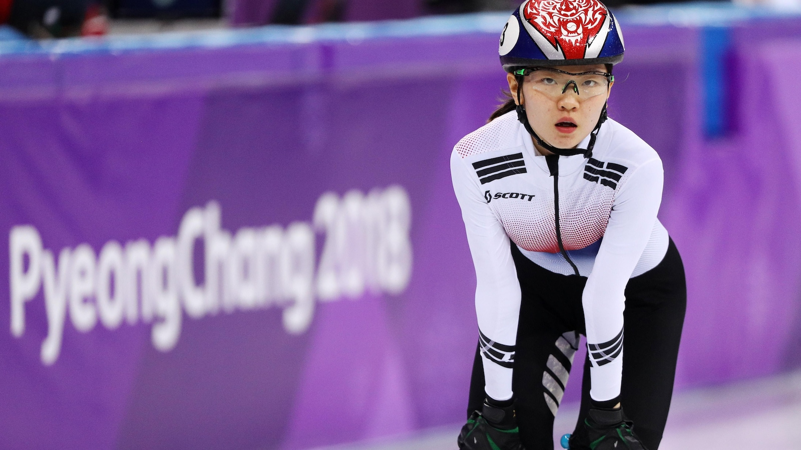 Shim Suk-hee à Pyeongchang