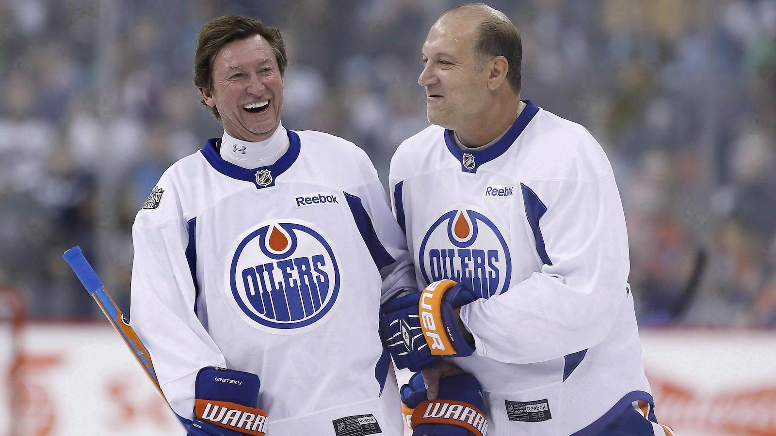 Wayne Gretzky et son éternel ange-gardien Dave Semenko