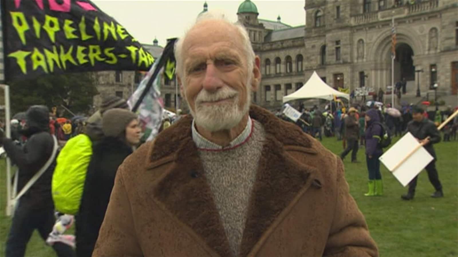 David Anderson, ancien ministre de l'Environnement dans le gouvernement de Jean Chrétien