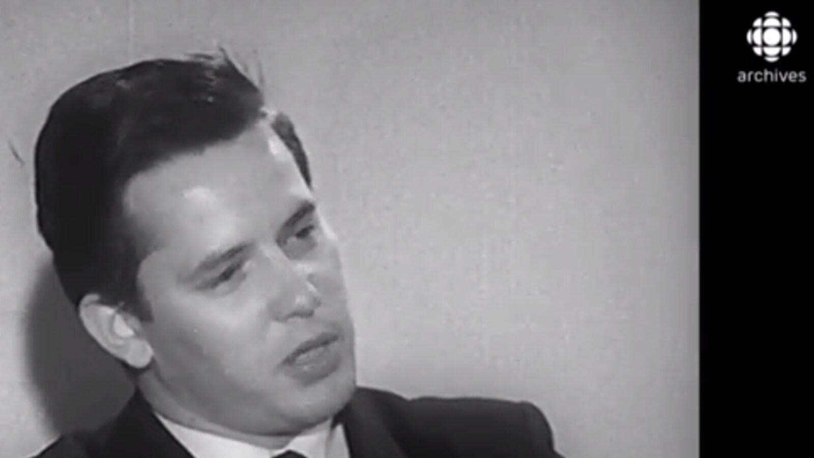 Bernard Landry en 1961