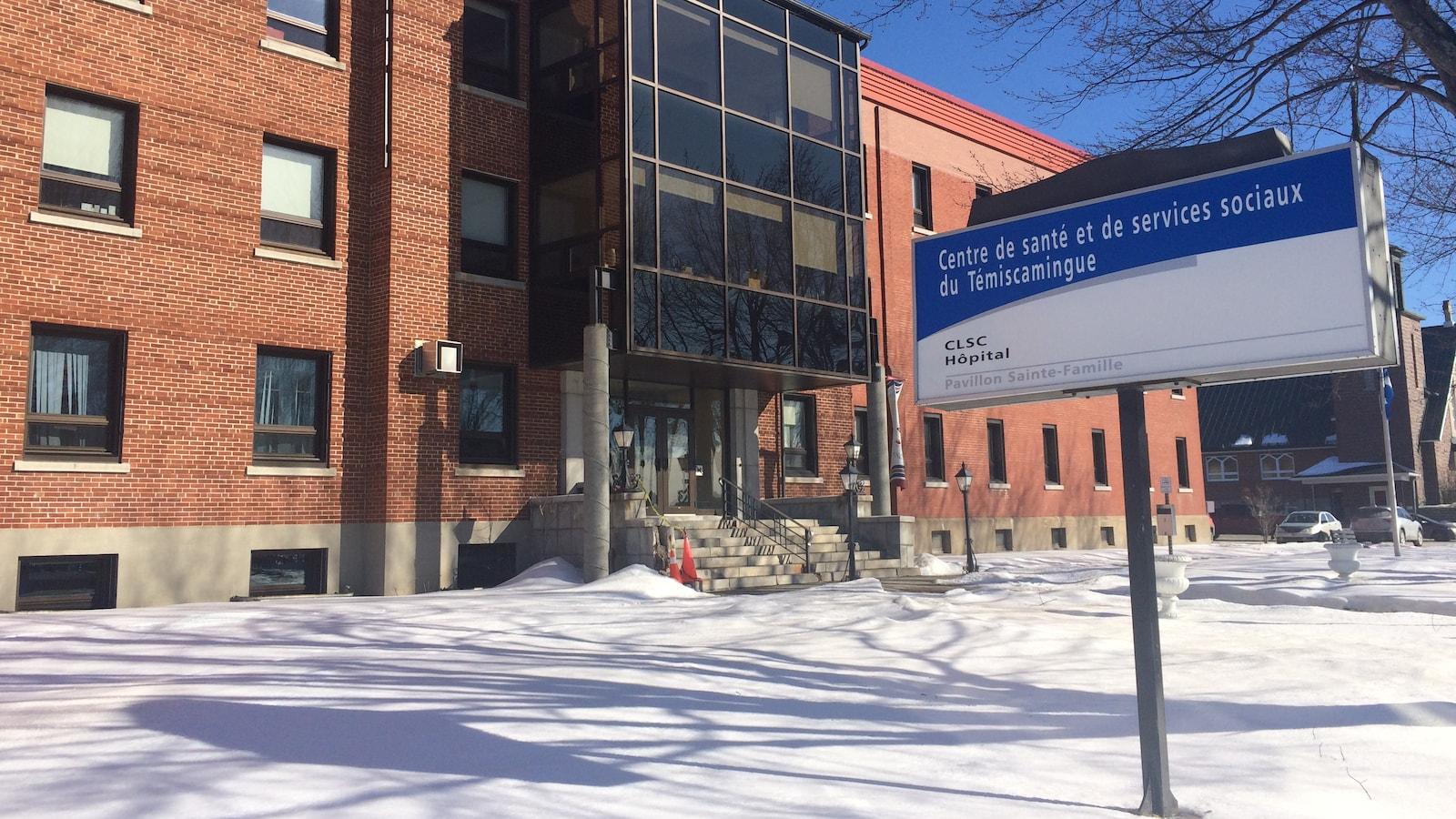 L'hôpital de Ville-Marie, au Témiscamingue.