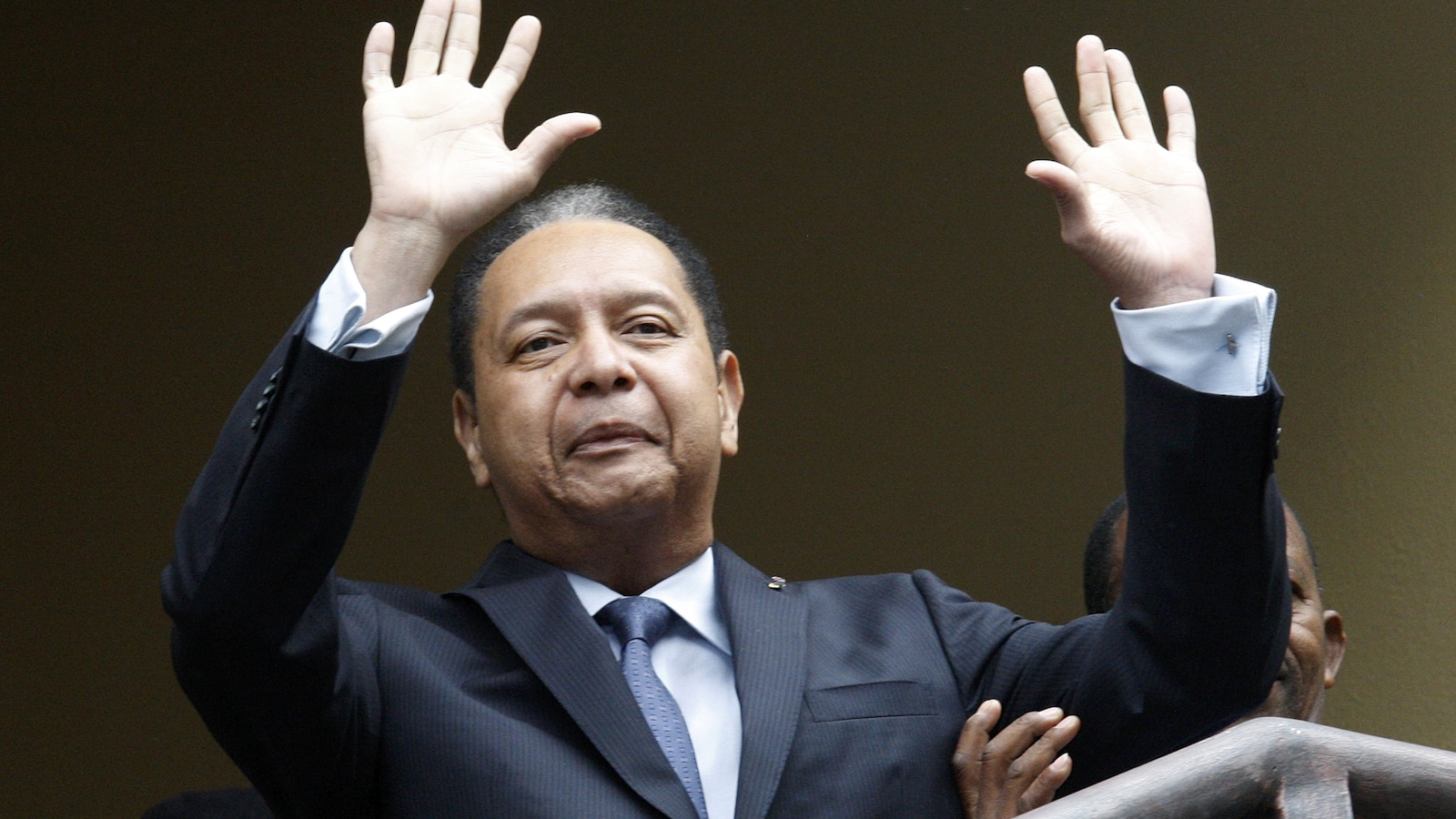 L'ancien dictateur d'Haïti Jean-Claude Duvalier