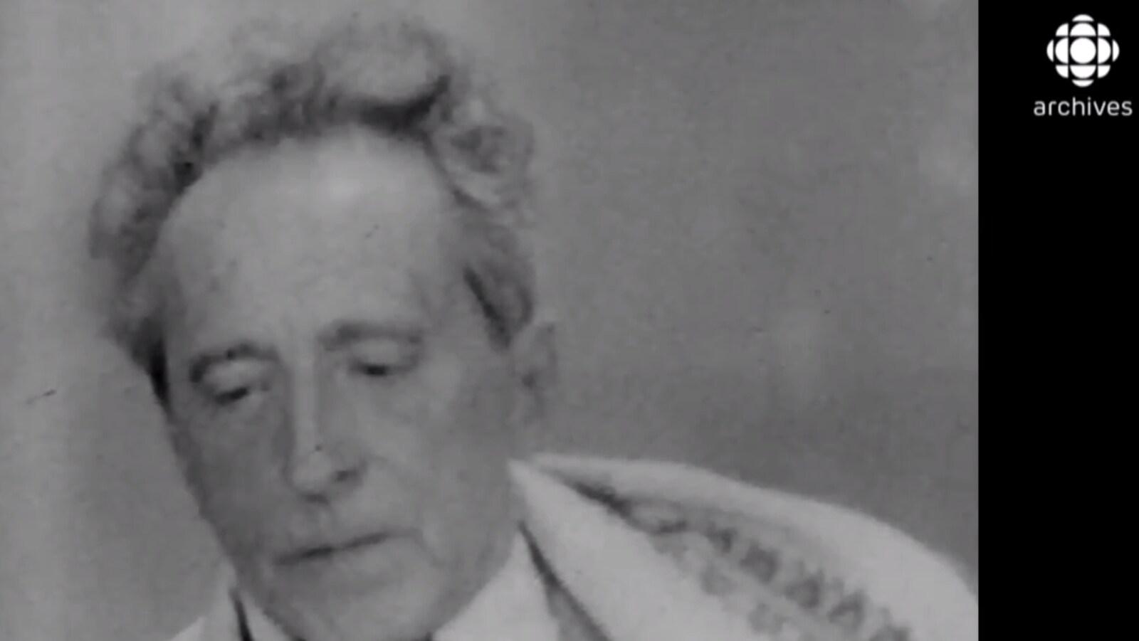Jean Cocteau en 1960.