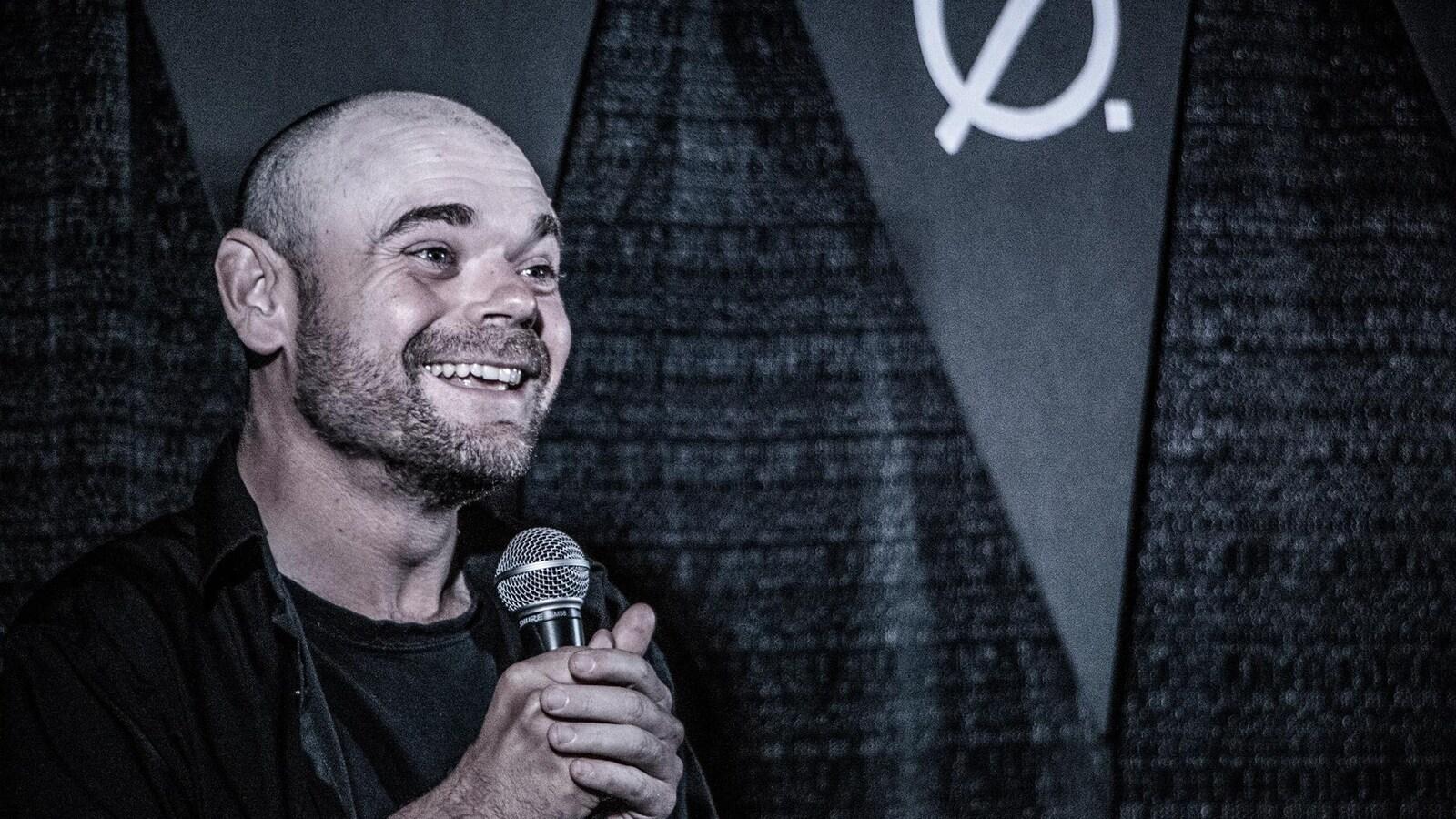 L'humoriste Martin Saulnier.