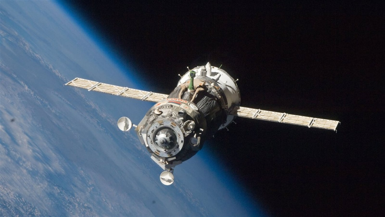 Un vaisseau russe Progress ravitaille la Station spatiale internationale (archives)