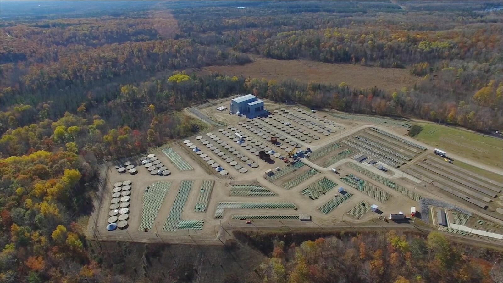 Des déchets faiblement radioactifs pourraient-être entreposés près de la rivière des Outaouais.