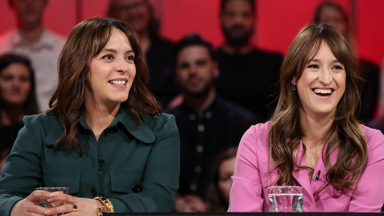 Elles présentent le film La femme de mon frère, sélectionné au Festival de Cannes.