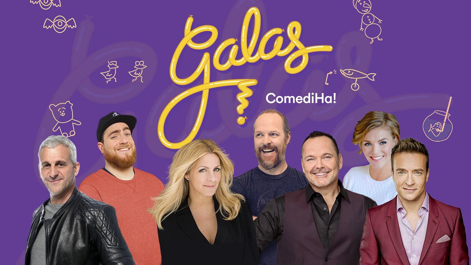 Affiche de ComediHa! 2018