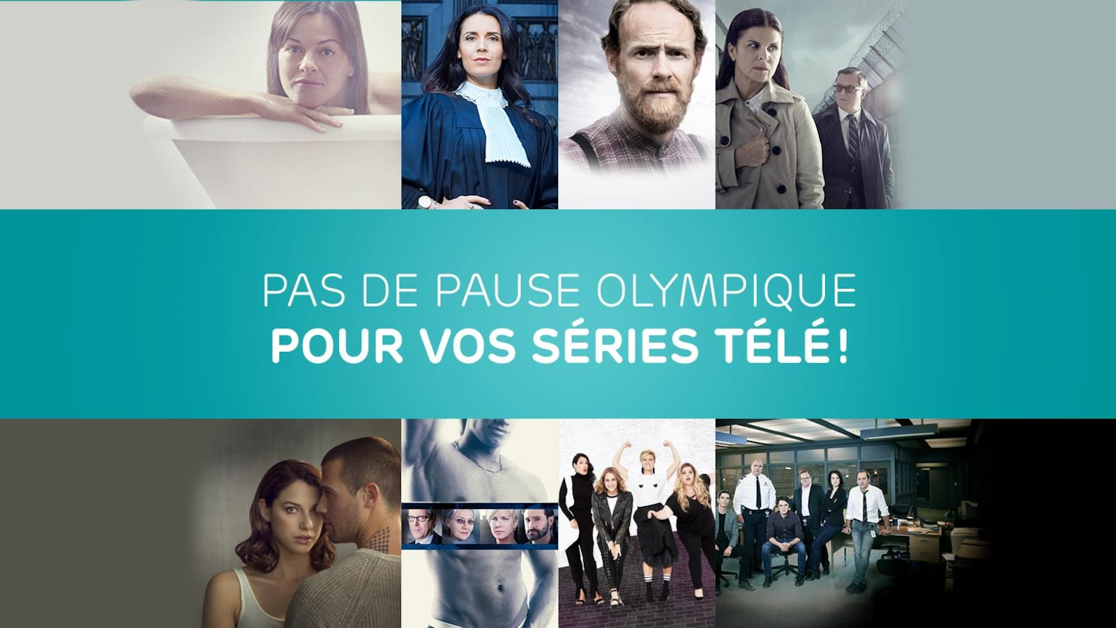 Pas de pause olympique pour vos séries télé!