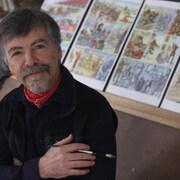 Le bédéiste franco-manitobain Robert Freynet.