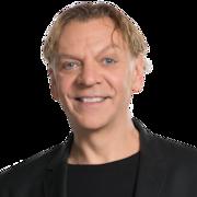 L'animateur d'ICI Première Marc Labrèche.
