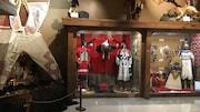Photo prise au Musée culturel de la réserve indienne Tsuu T'ina.
