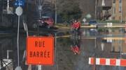 Des rues sont fermées à Gatineau en raison des inondations.