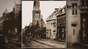 Photographie de la rue Saint-Jean prise à une date inconnue.
