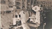 L'épicerie J.A. Moisan en 1930.