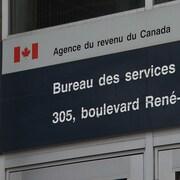 Des bureaux de l'Agence du revenu du Canada.