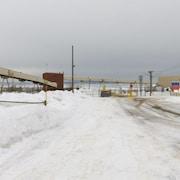 Une photo de Belledune en hiver.