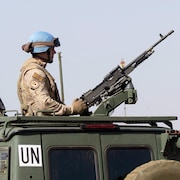Un soldat des Forces canadiennes déployé au Mali