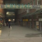 La façade de Crystal Mall.