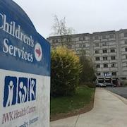 Enseigne de l'hôpital pour enfants IWK