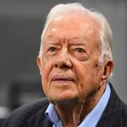 Gros plan sur Jimmy Carter
