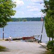 Le lac Stoney, près de Peterborough
