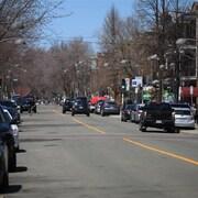 La 3e Avenue du quartier Limoilou