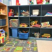 Une classe de maternelle quatre ans.