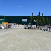 L'usine de la mine North American Lithium.