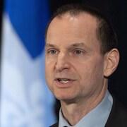 Le ministrre des Finances du Québec Éric Girard