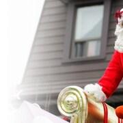 Le père Noël arrive ce dimanche à Sherbrooke.