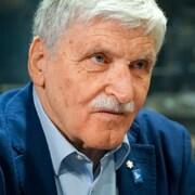 Roméo Dallaire lors d'une entrevue.