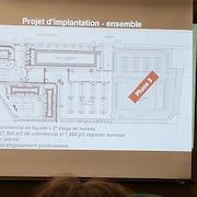 Un croquis de la phase 3 du projet projet résidentiel et commercial sur Belvédère Sud, à Sherbrooke.