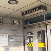Entrée de la station Frontenac