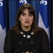La députée Véronique Hivon