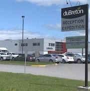 L'usine des Viandes du Breton, à Rivière-du-Loup.