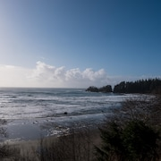 la plage de Wickaninnish Beach au Pacific Rim National Park.