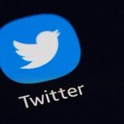 L'icône de l'application Twitter.