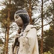 Une statue de Kateri Tekakwitha à Fonda, dans l'état de New York