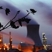 L'émission de particules dans l'atmosphère contribue à l'effet de serre.