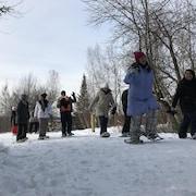 Des immigrants en classe de neige à Sherbrooke