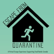 Le logo du jeux Escape From Quarantine.