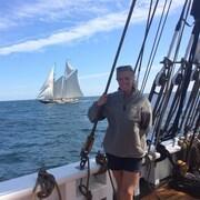La jeune femme a passé 2 étés comme matelot à bord du voilier.