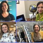 Quatre femmes entrepreneures francophones du Sud-Ouest de l'Ontario