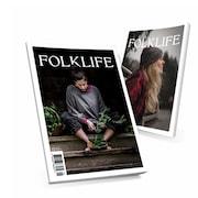 Deux couvertures du magazine FOLKLIFE.