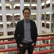 Pierre Simpson, comédien et metteur scène en entrevue à Radio-Canada à Toronto