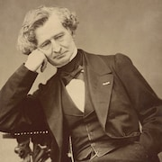 Le compositeur français Hector Berlioz.