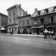 Le quartier de la prostitution de Montréal en 1947.