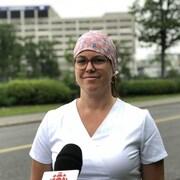 La sonographe cardiaque d'Ottawa Josée Potvin